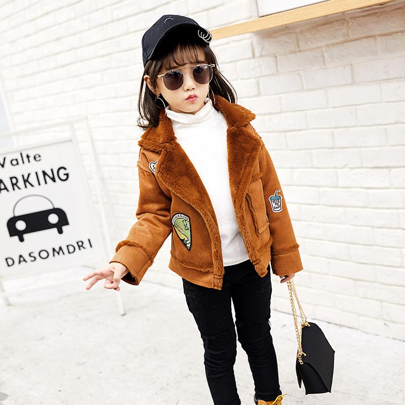 天天特价冬装韩版潮外套皮衣儿童皮毛上衣宝宝女童仿皮草加绒加厚
