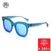 木九十透明边框太阳镜 SM1600014 2016款时尚太阳镜 偏光板材眼镜