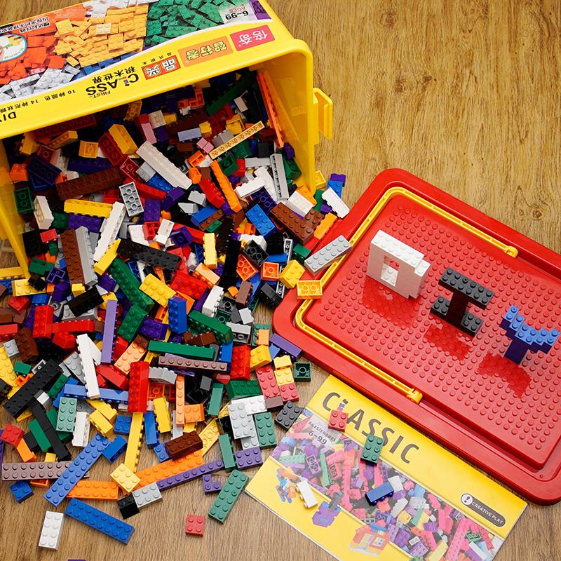 匹配乐高积木男孩子3女孩6周岁儿童拼装玩具益智10小颗粒12小学生