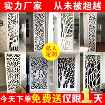 東陽木雕定製鏤空雕花板隔斷玄關花格屏風實木電視背景牆裝飾吊頂