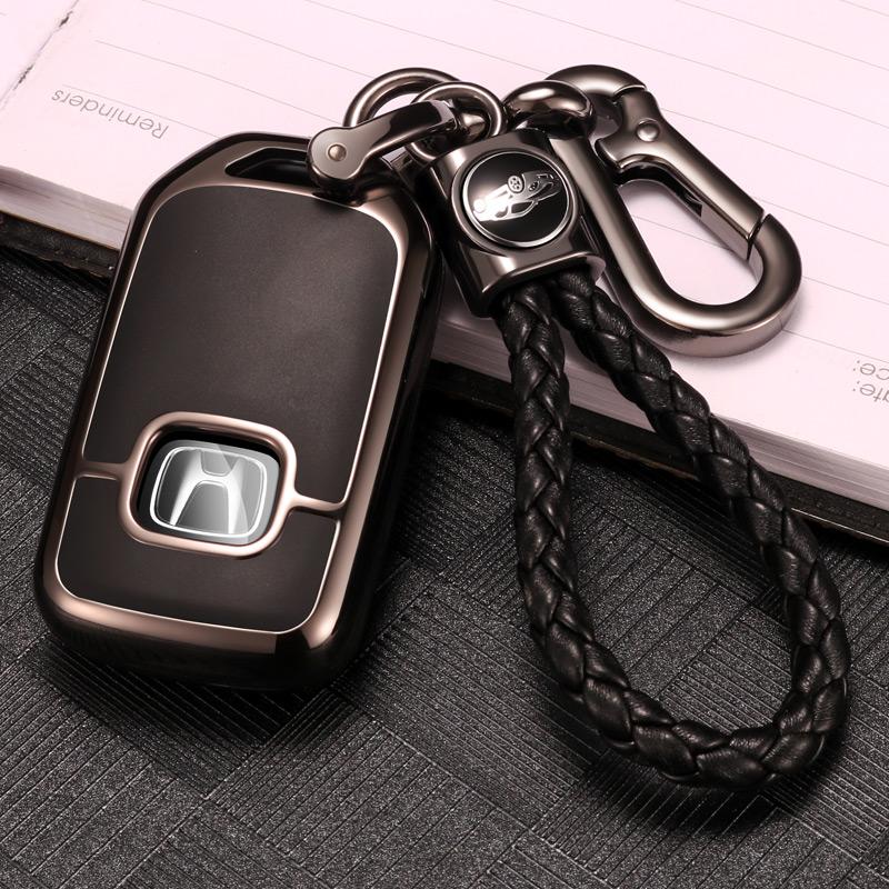 本田十代雅阁钥匙包2018新款10代十代思域钥匙套inspire汽车壳扣