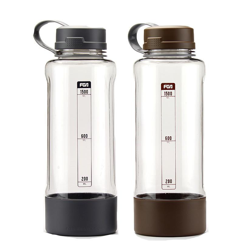 富光大容量塑料杯便携防漏太空杯夏天户外水杯运动水杯水壶1500ML