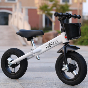Wheat grain children's balance car 2-6 years old without pedal baby bicycle toy car child scooter scooter