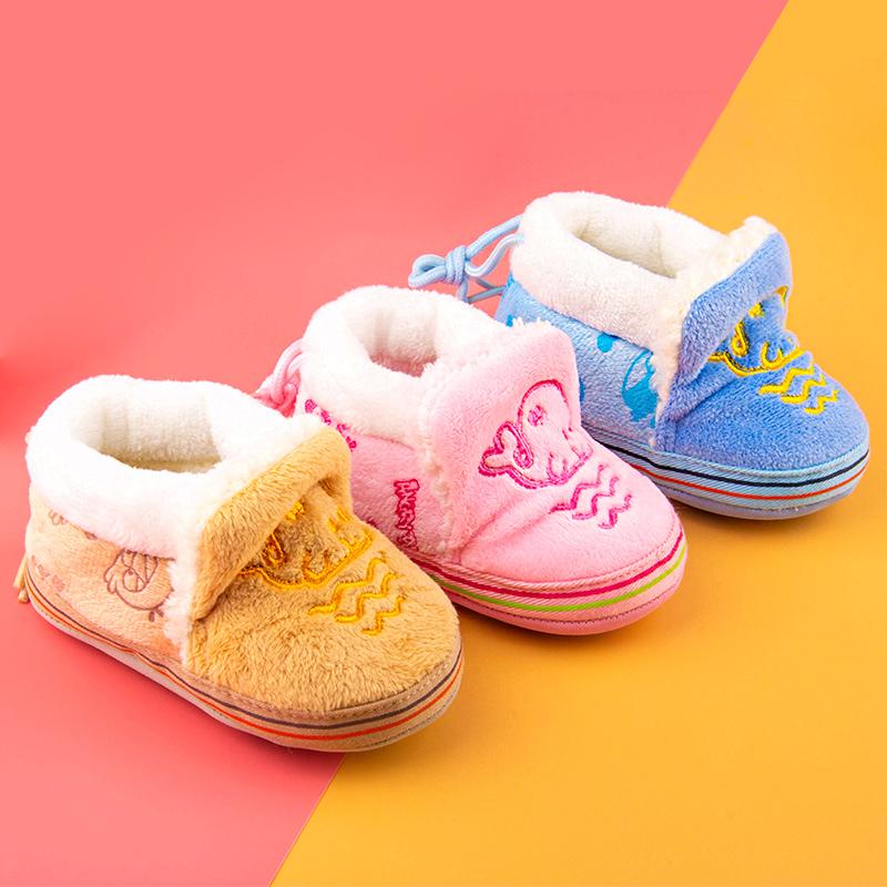 点击查看商品:童鞋学步鞋0-1岁男女宝宝6-12月软底防掉新生儿鞋加绒秋冬婴儿鞋