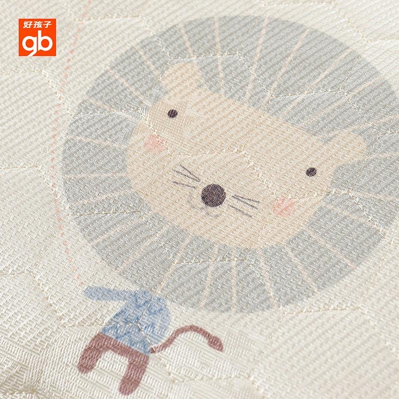 好孩子婴儿冰丝凉枕夏季吸汗透气新生儿宝宝幼儿园午睡枕头0-2岁