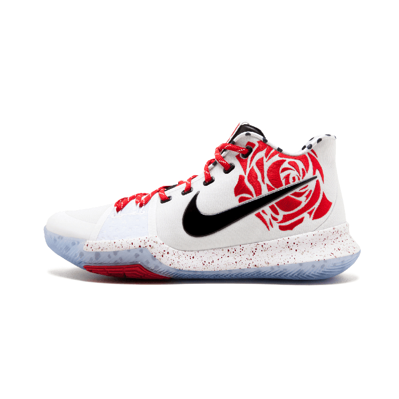 "Nike Kyrie 3 Sneaker Room Mom欧文3 红玫瑰 942206 100 ""Sneake"