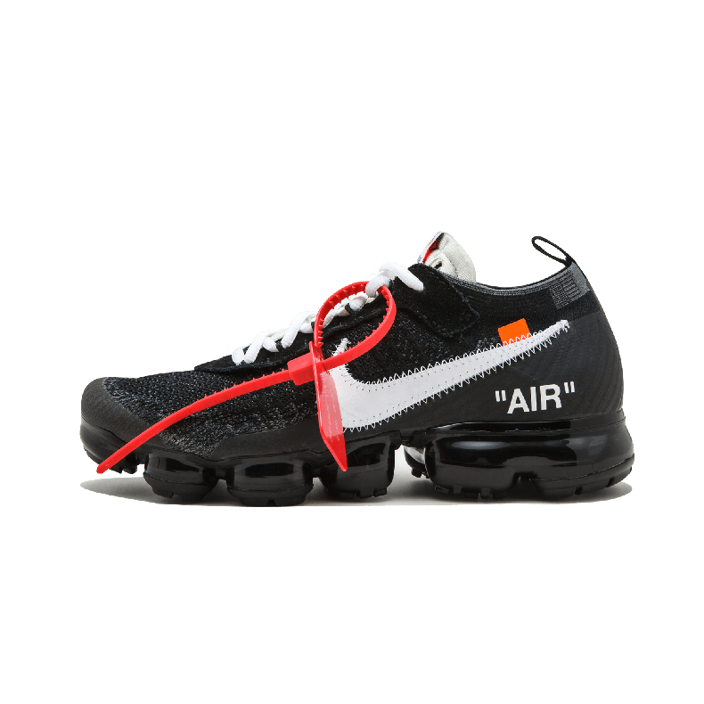 Nike Air Vapormax FK x OFF WHITE联名黑白大气垫跑鞋AA3831 001