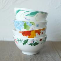 【TaDah突然间】陶瓷碗创意个性家用网红碗碟餐具套装ins北欧饭碗