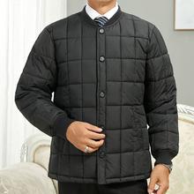 中老年的棉衣男内胆冬装外套ls10肥加大op60-70岁父亲棉服