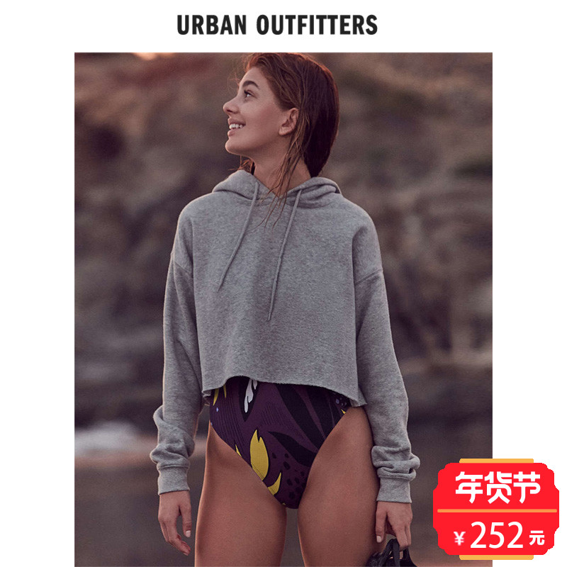 Out From Under欧美女士连帽衫 Urban Outfitters套头长袖卫衣春