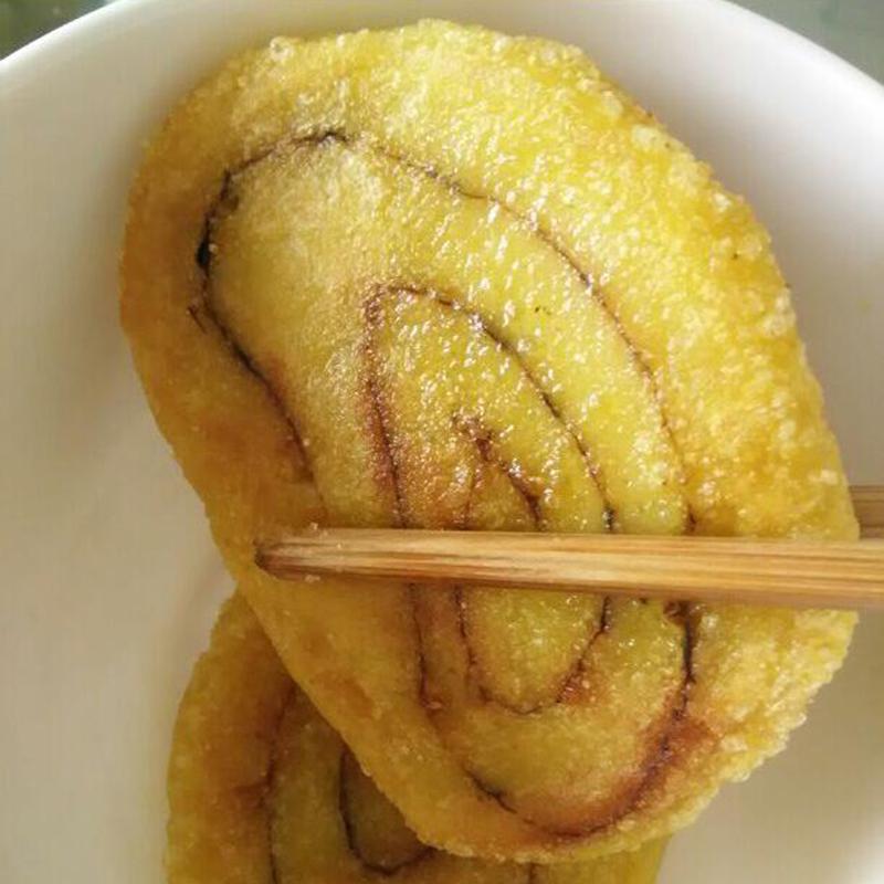 黄米年糕1000g枣泥馅手工黄米面粘糕农家糯米糍粑现做夹心豆包黏