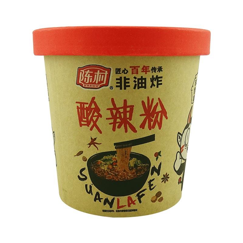 陈村重庆酸辣粉 老坛酸菜味100g单桶装 粉丝非油炸方便粉丝小吃