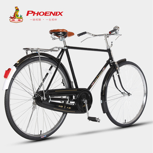Phoenix PA-18 28-inch old-fashioned retro lever brake light commuter bicycle elderly leisure mobility bicycle