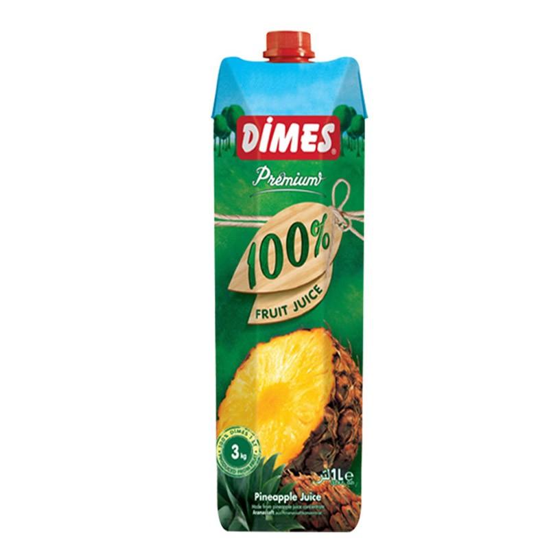 土耳其进口果汁 DIMES 纯果汁饮料无添加 多种口味复合果蔬汁1L
