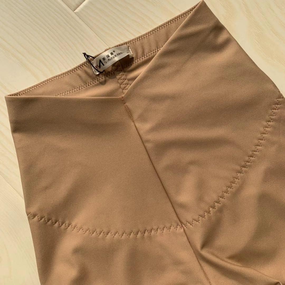 斯瑞晨保暖裤春秋薄款女肤色无痕一体裤肉色打底裤加绒高腰九分裤