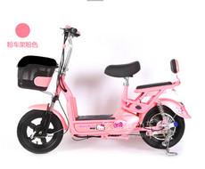 迷你小型女士电动车自行车成人款Hello kitty专属版名岛电动车/