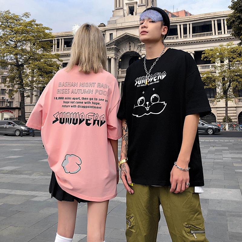 女潮牌ins潮流学生短袖T恤