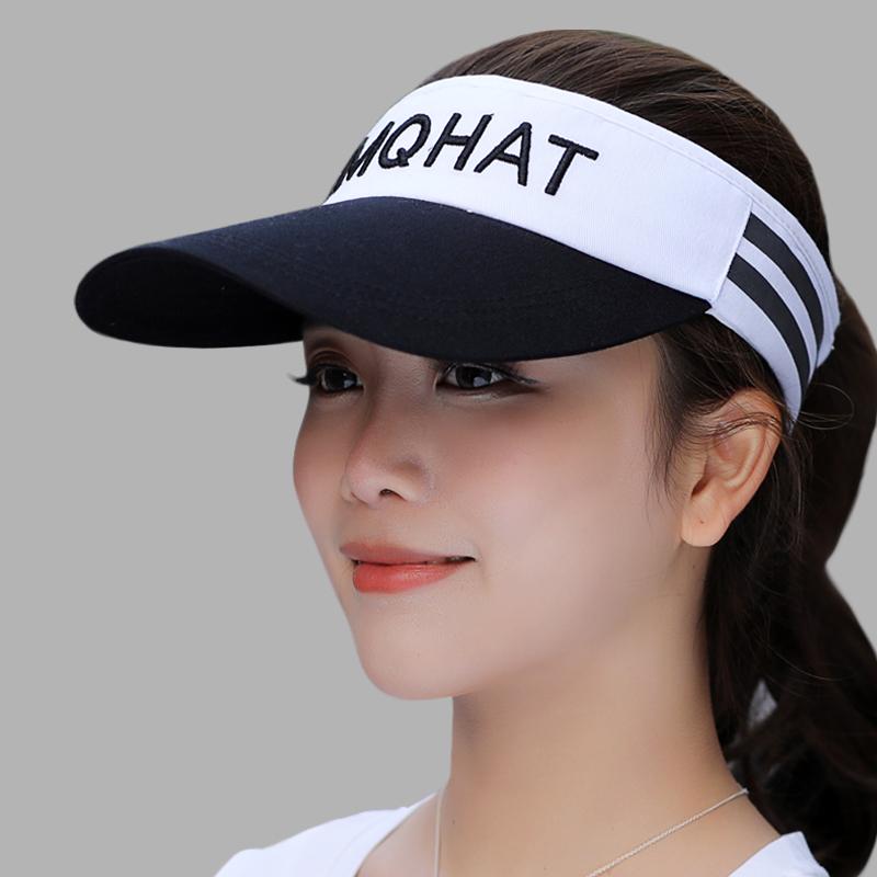 白 黑色帽檐
