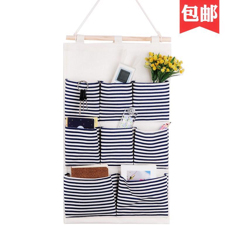 悬挂袋挂袋墙挂式收纳包包式悬挂袋手机挂兜布艺袜子衣柜悬挂挂袋