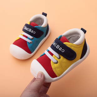 春秋学步鞋女宝宝鞋子0一1-2-3岁婴儿鞋软底男宝宝单鞋布鞋机能鞋