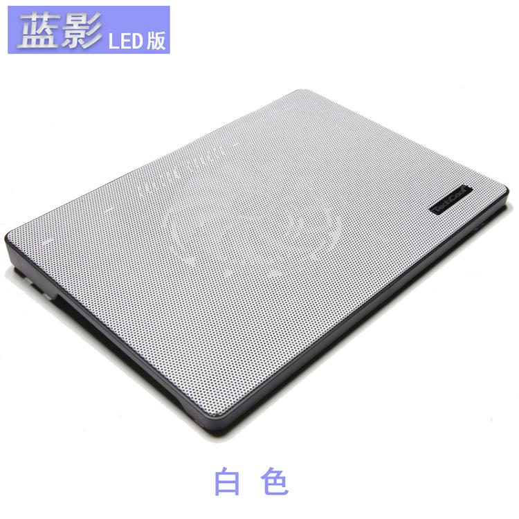 终极者 清仓库存LED发光笔记本电脑散热架底座手提电脑散热器