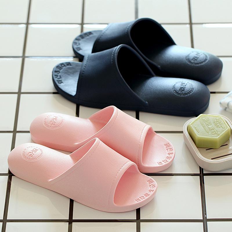 拖鞋女夏季家用室内浴室情侣防滑洗澡四季软底居家塑料可爱男拖鞋