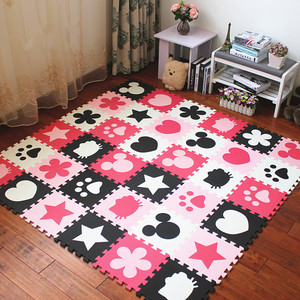 Pet dog floor mat environmental protection genuine baby child flooring bedroom foam stitching carpet baby puzzle pieces