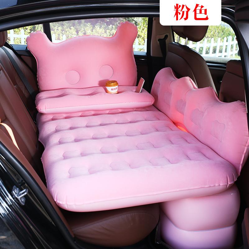 车载充气床垫后排旅行床轿车内SUV卡通牛津睡觉垫汽车用品气垫床