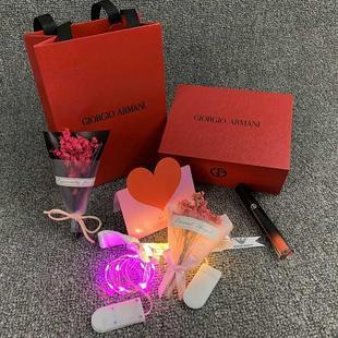专柜原版 阿玛尼/Armani 纸袋香水口红盒袋子唇膏礼品袋子包装袋