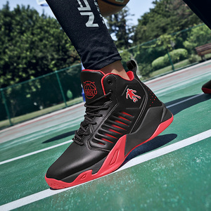 New basketball shoes men's shoes 2019 spring and autumn authentic combat high-top breathable sneakers and boots student sneakers men's spring
