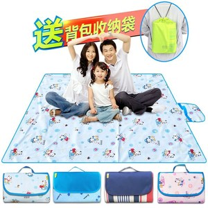 Portable camping waterproof thickening folding picnic mat outdoor survival equipment outdoor supplies self-driving.