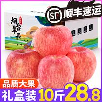 苹果水果山东烟台苹果红富士10新鲜当季水果斤整箱脆甜包邮冰糖心