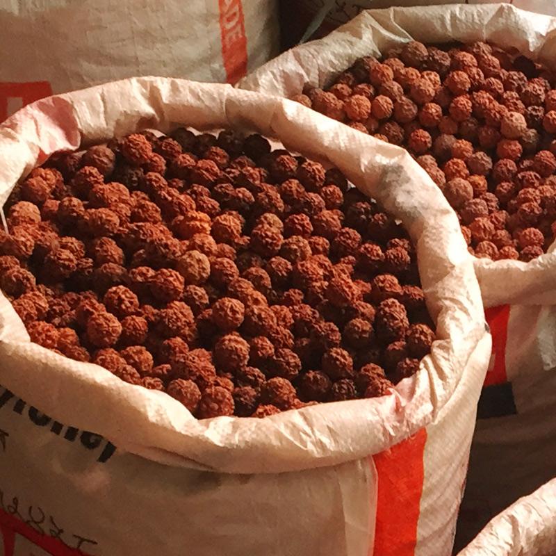 按斤卖尼泊尔大金刚菩提子通货五、六瓣爆肉纹散珠原籽男士手串