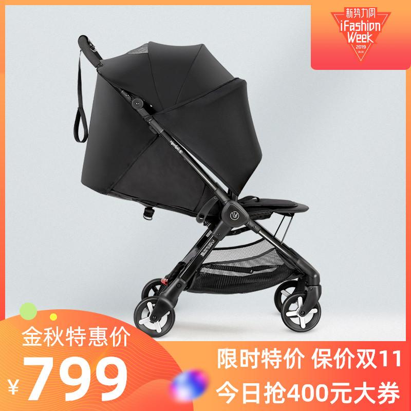 威凯婴儿车轻便折叠超轻可坐躺一键收车可上飞机防风遮阳宝宝推车