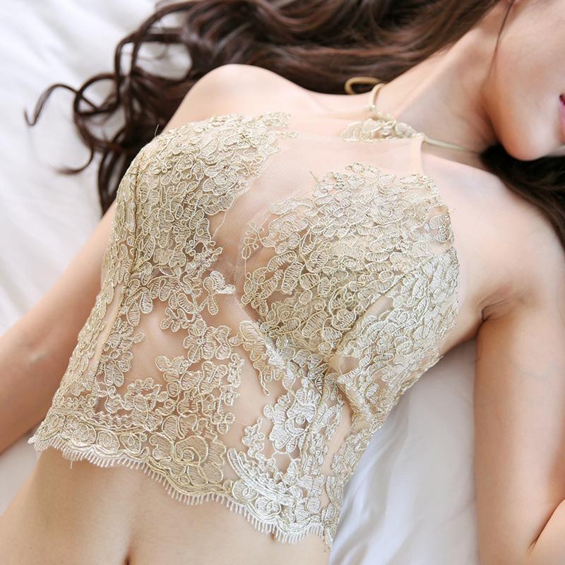 情趣刺绣肚兜式睡衣女士性感成人套内衣极度诱惑骚古代宫廷透明骚