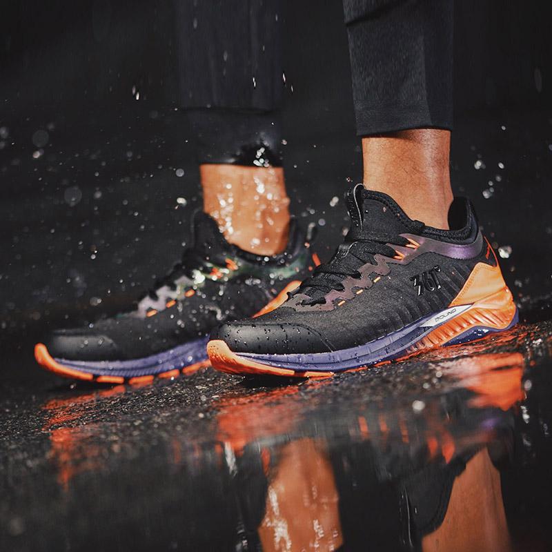 【雨屏1.0】361男鞋运动鞋冬季内靴式防泼水雨屏跑鞋轻便跑步鞋A