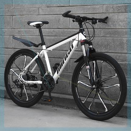 山地自行车自行车越野减震单车男女学生跑车30速赛车男女变速