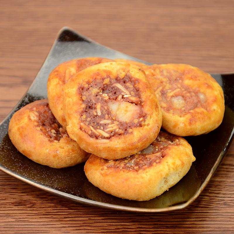 上海特产食品 老香斋特色鸡仔饼300克/盒 休闲零食点心传统糕点