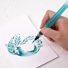 【萌新d0支装】套装ld者手绘笔支装软头储水毛笔包邮