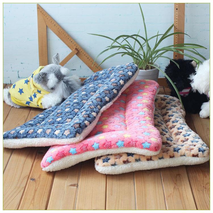 狗垫子猫垫毯子宠物窝狗窝猫窝泰迪大中小型犬床被凉席四季加厚垫