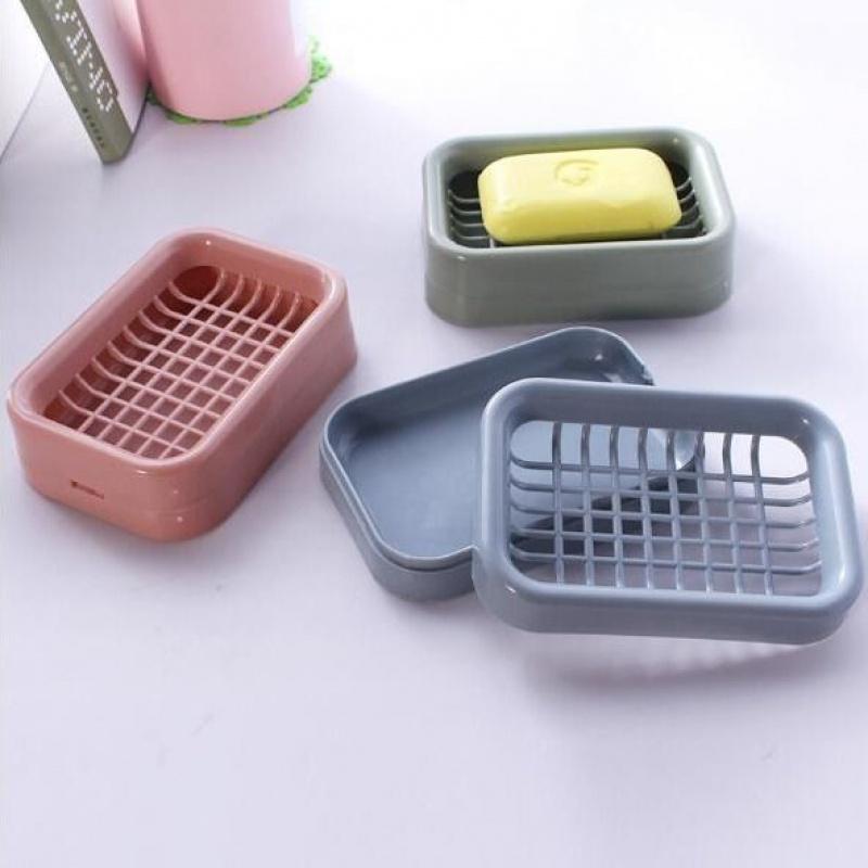 【亏本冲量】创意双层沥水肥皂盒香皂盒镂空免打孔卫生间厨房皂架