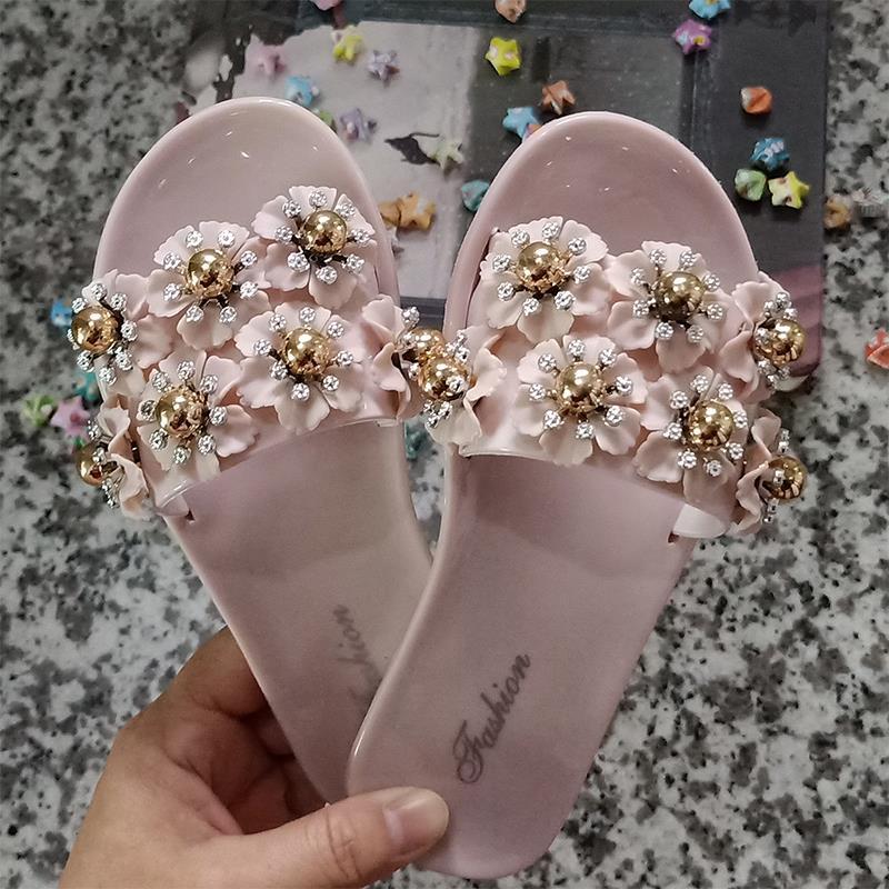 儿童拖鞋夏季时尚外穿小公主凉拖鞋女童小孩室内防滑亲子新款拖鞋