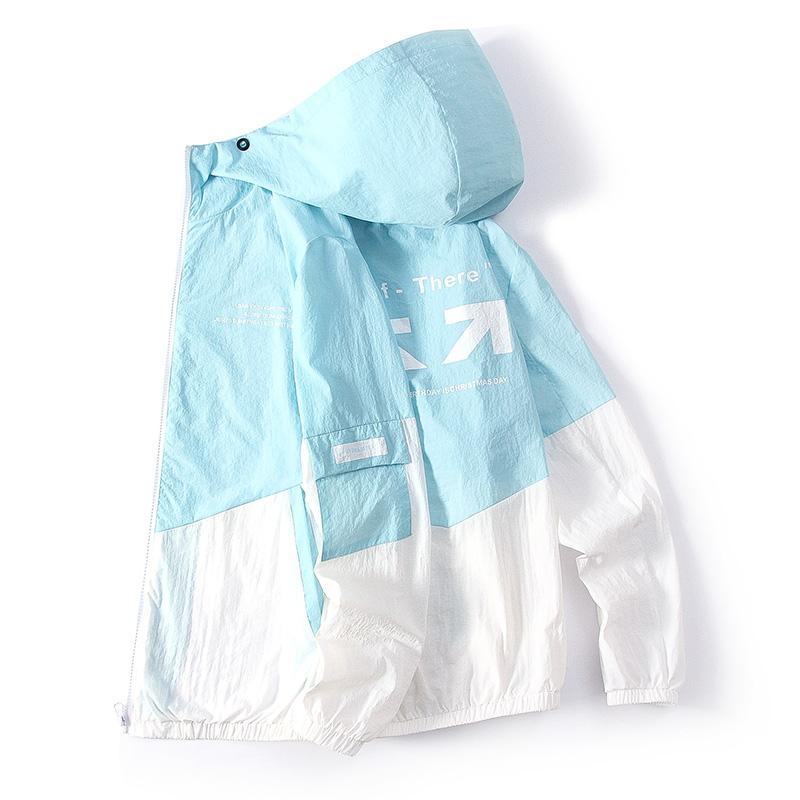 男士防晒衣服春夏季潮冰丝透气夏天防晒衫超轻薄款痞帅气夹克外套