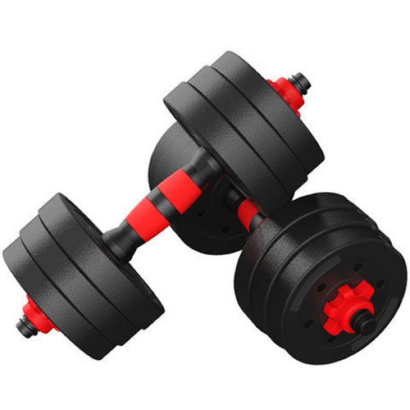 哑铃男士健身家用器材20/30公斤特价亚玲可调节杠铃男一对