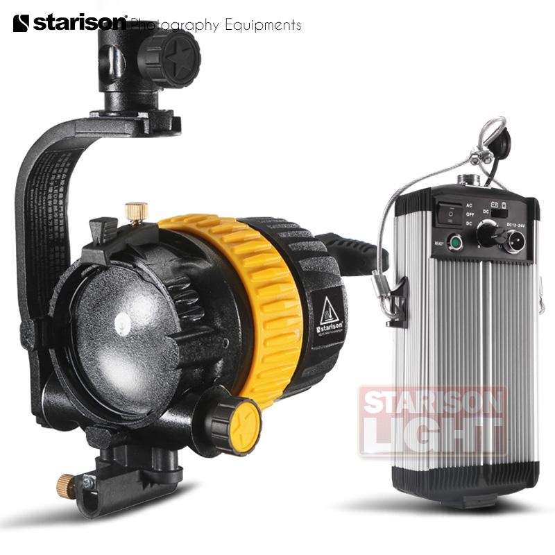 鑫威森LED 500A影视聚光灯 调焦摄像摄影双色温补光灯 国产特图利