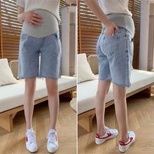 孕妇短裤夏季时尚外穿夏装裤子夏st12薄款宽an短裤五分中裤