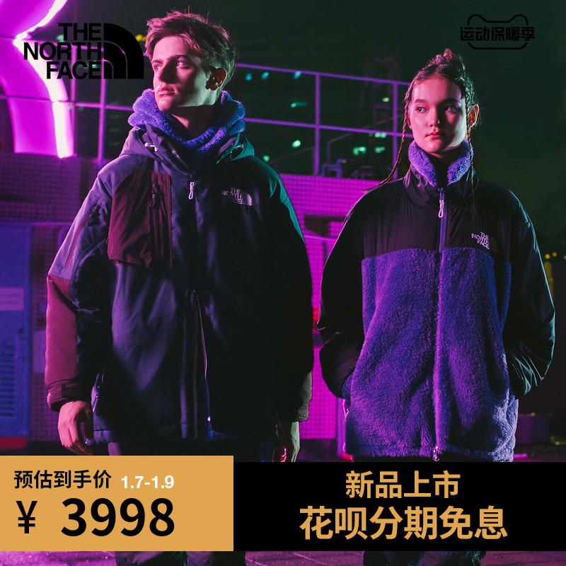 TheNorthFaceUE北面KK DOWN PARKA男拼色羽绒服户外休闲上新 4U63