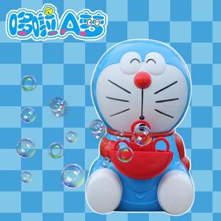 哆啦A梦吹泡泡机抖音同款充电式小熊电动全自动网红六一儿童礼物