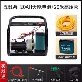 园艺用品电动打药机农用农药新式智能喷雾器高压手提式小型充电抽
