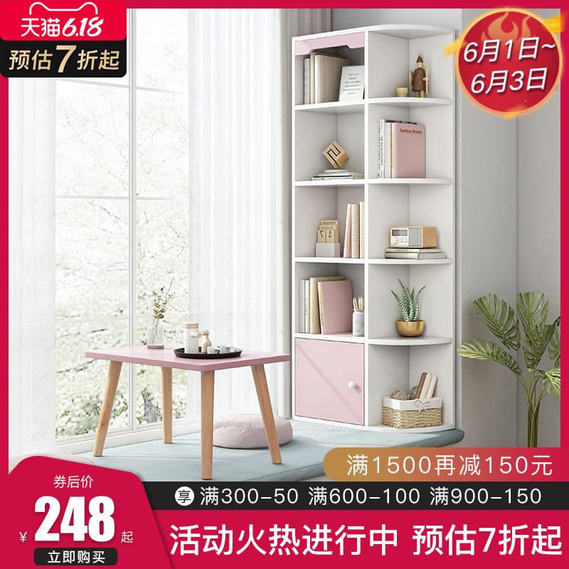 飘窗柜储物柜置物架收纳榻榻米柜窗台柜子卧室小书架书桌书柜一体